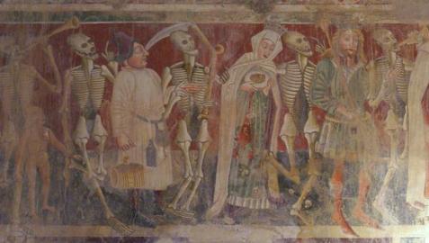 La peste negra despobló unos 200 lugares en Navarra