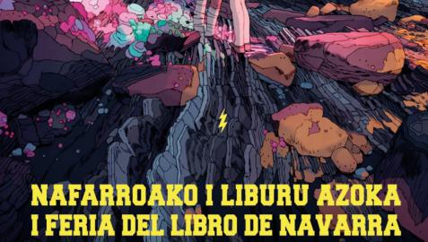 La I Feria del Libro de Navarra tendrá lugar del 28 de mayo al 6 de junio
