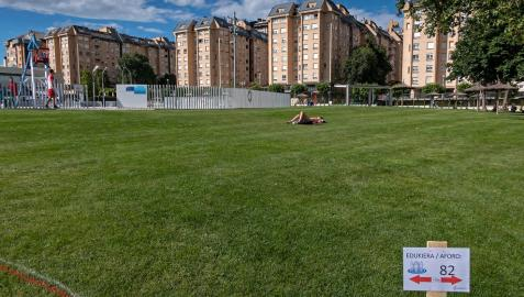 Piscinas de verano de Zizur Mayor con las medidas establecidas en 2020.