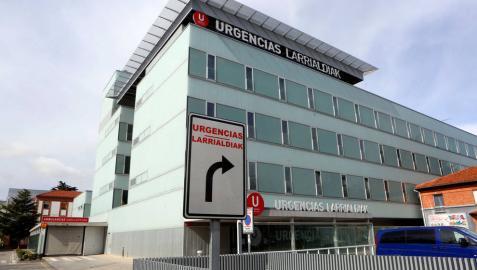 Edificio de Urgencias del Complejo Hospitalario de Navarra.