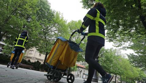 El comité de empresa de Correos convoca una huelga indefinida en Pamplona