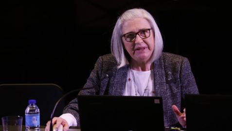 La compositora navarra Teresa Catalán, premio Príncipe de Viana 2021