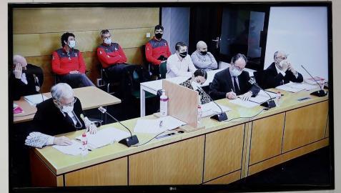 Las defensas de los acusados del crimen de Cáseda dicen que los dos hijos no participaron