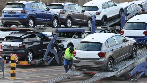 Volkswagen Navarra tendrá piezas para trabajar toda la semana que viene
