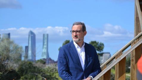 """Juan Virgilio Márquez: """"La eólica es una solución a un problema que será muy grave si no actuamos ahora"""""""