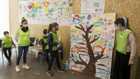 Campamento de Coworkids en Pamplona.