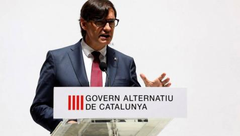Salvador Illa presenta un Govern en la sombra para fiscalizar a Pere Aragonés