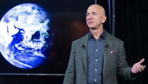 Jezz Bezos, CEO de Amazon