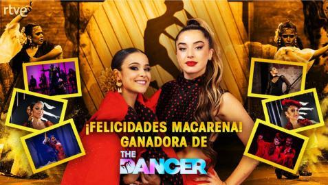 Quién es Macarena Ramírez, la ganadora de la final de 'The Dancer'