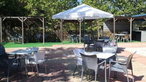 Terraza del bar Kirol