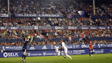 Galería de imágenes del Osasuna 1-0 Albacete en El Sadar. Jornada 9 de la Liga123