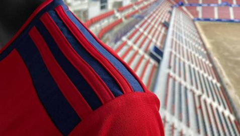 Osasuna ha presentado este miércoles la que será su primera equipación de cara a la próxima temporada 21/22, el capitán Oier Sanjurjo la ha anunciado en El Sadar.
