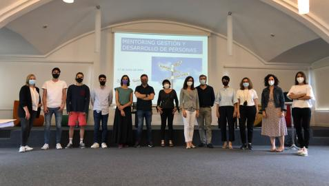 Participantes en el programa de mentorización