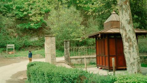Caseta de entrada al Parque Natural del Señorío de Bértiz