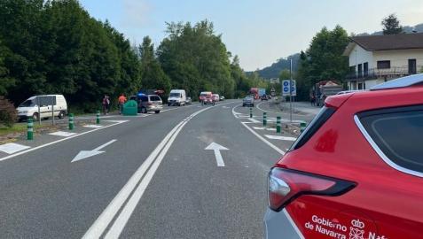 Dos personas heridas en una colisión en Sunbilla