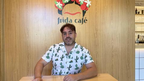 Rubén González, propietario de Frida Café Bistro