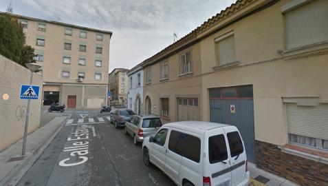 Calle Estanca, en Tudela.