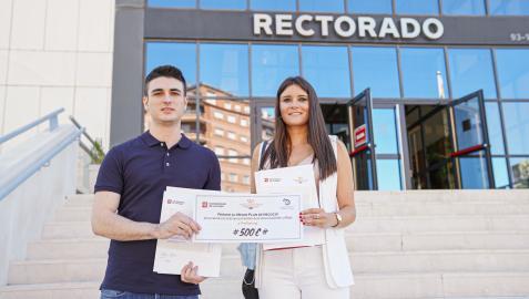 Íñigo Pérez Lacalle y Cristina Pérez Guillén