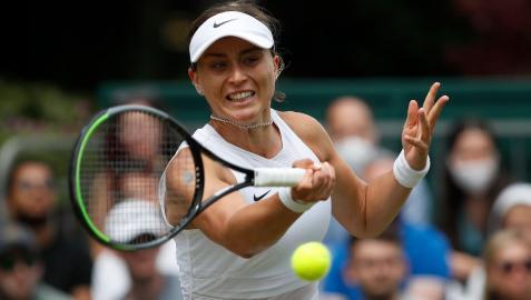 Paula Badosa, en Wimbledon