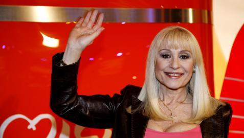 Raffaella Carrà, en una imagen tomada en España en 2008