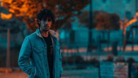 El cantante navarro Javi Robles