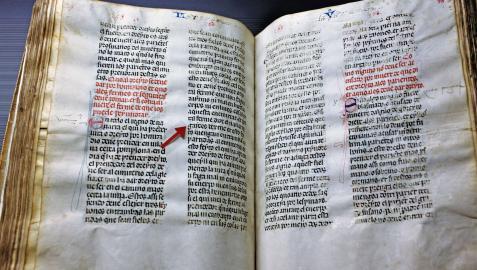Fuero del reino. El documento es una copia del siglo XIV
