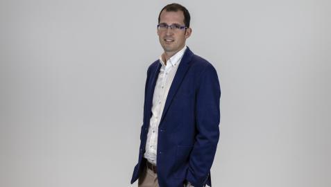Sergio López es el CEO de la tecnológica Hiberus, con un ambicioso plan de expansión en Navarra.