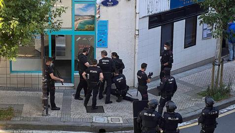 La Ertzaintza ha detenido este jueves en San Sebastián al presunto autor del asesinato de una mujer de 43 años en la localidad navarra de Murchante
