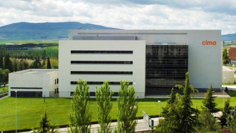 Edificio del Cima Universidad de Navarra.