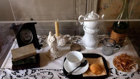 Objetos expuestos en la Casa de la tía Léonie