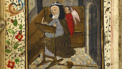Representación de la peregrina Margery Kempe