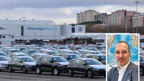Imagen de Markus Haupt sobre una imagen de Volkswagen Navarra