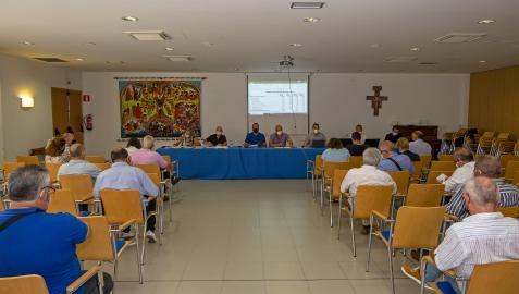 Imagen de la asamblea de Mancomunidad celebrada el pasado mes de junio en Estella