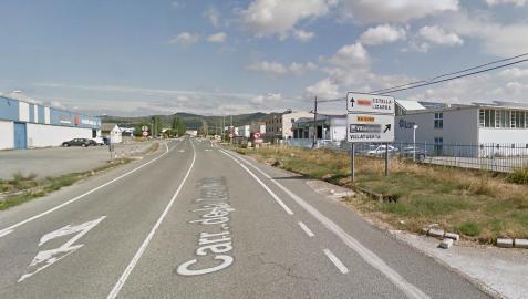 Imagen del polígono industrial de Villatuerta