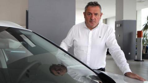 Carlos Sagüés, representante de talleres y concesionarios de Navarra
