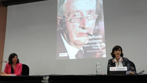 Presentación en Pamplona de la biografía de Federico Soto.