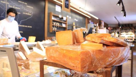 Tres Valles Pasiegos ha convertido al queso Tudanco en el más grande de Cantabria