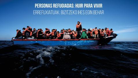 Imagen del cartel de la muestra.