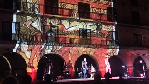 Imagen de una de las actuaciones.