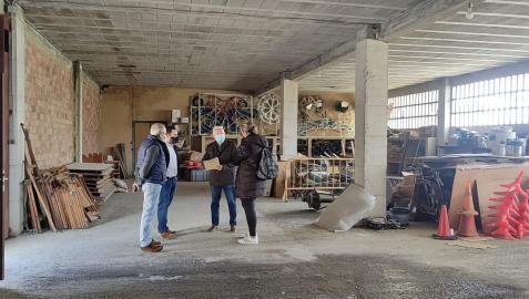 Imagen del nuevo edificio de los servicios sociales de base en Olite.