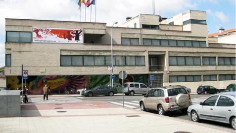 Exterior de la Casa de la Juventud de Pamplona