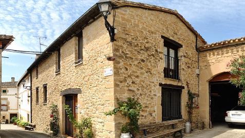 Una de las casas con encanto de Grocin, en Tierra Estella