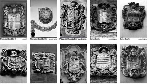 Escudos en las calles de Pamplona III