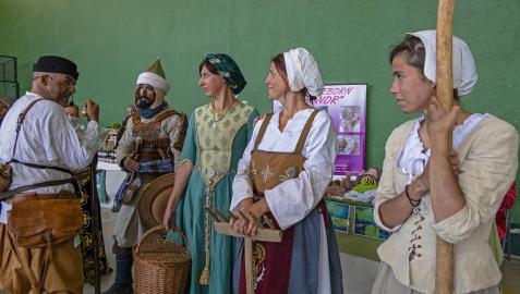 Imágenes de la representación de la batalla de Valdejunquera en Muez