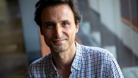 Manuel Asín, nuevo director artístico del Punto de Vista, en el Baluarte de Pamplona