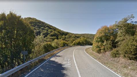 El vecino de Villava fallecido ha sufrido una caída mientras circulaba en bicicleta por la carretera NA-411, en el término de Odieta