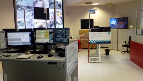 Centro de mando de la Policía Municipal