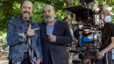 Miguel Rellán y Antonio Resines, protagonistas de 'Sentimos las molestias'