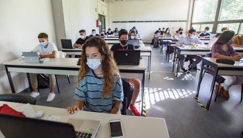 Estudiantes, en la UPNA