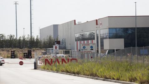 Imagen de la entrada a las instalaciones de la empresa Nano Automotive de Tudela
